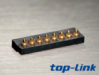 8pin弹簧顶针连接器