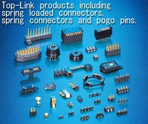 pogo pin 连接器,弹针连接器,电池连接器