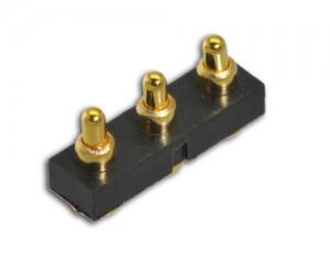 直立型 3pin 连接器