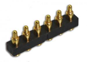 直立型 6Pin 连接器