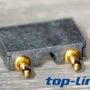 2p弹簧式顶针连接器pogopin