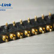 8pin侧接弹簧顶针连接器