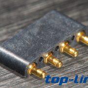 4p弹簧针连接器