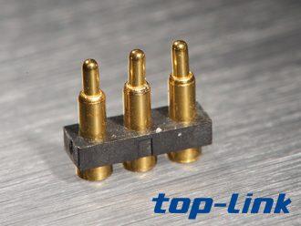 3pin pogoPin连接器
