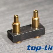 2pin pogo pin连接器