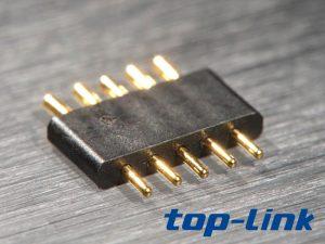 5pin插件pogopin连接器