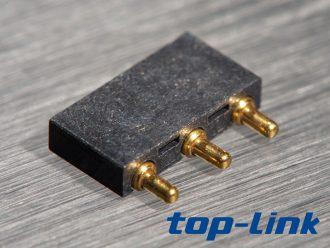 3pin弹簧针连接器