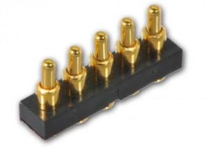 5Pin 顶针连接器